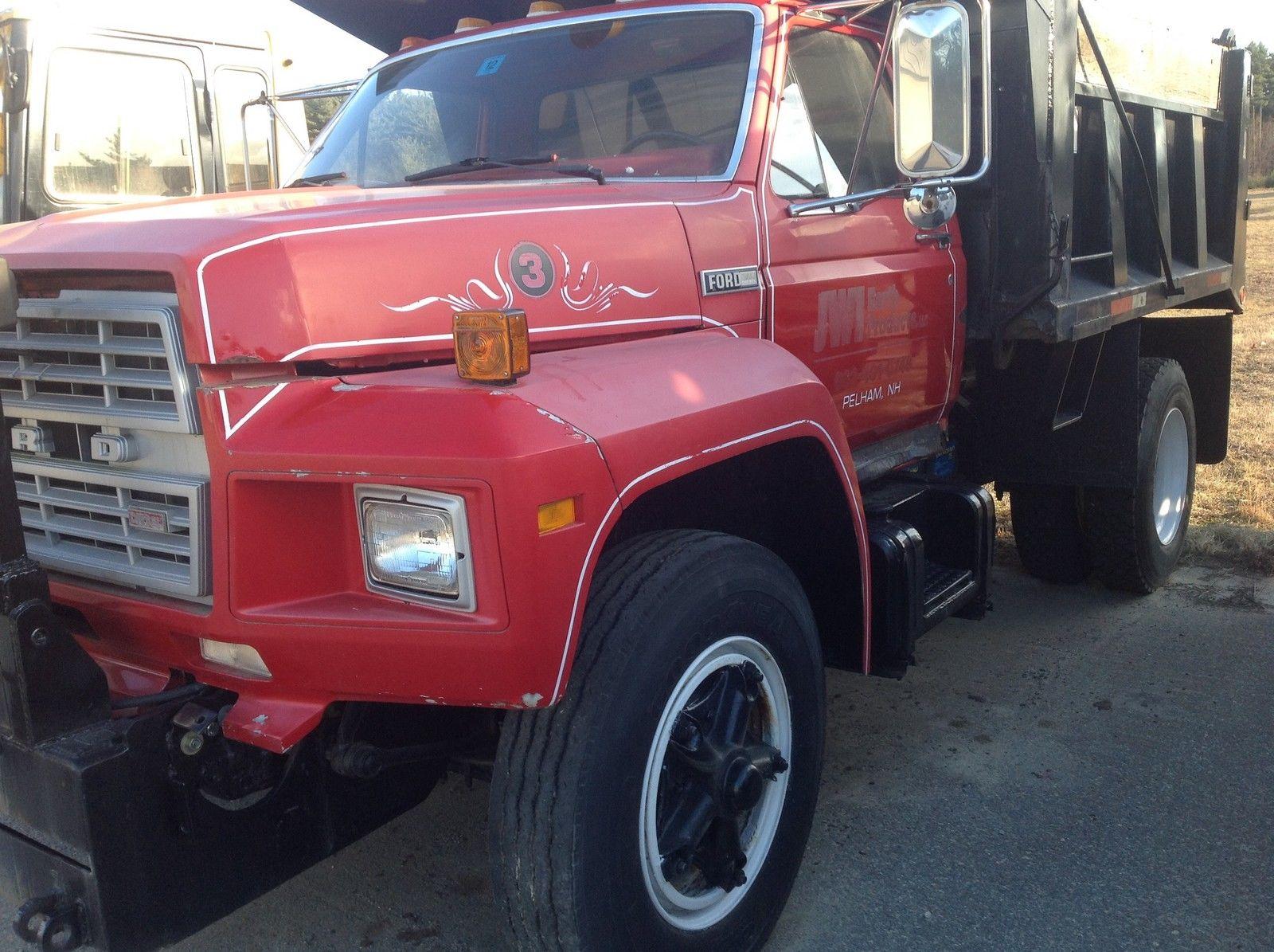 1980 Ford F800 Dump Truck Wiring Diagram Diesel Plow Frame Only Miles 1600x1195