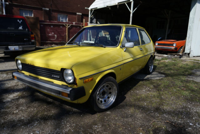 1980 Ford Fiesta Ghia No Reserve