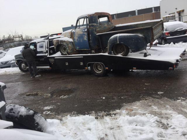 1980 Gmc Chevrolet Car Hauler Hodges Ramp Truck Square Body Crew Cab
