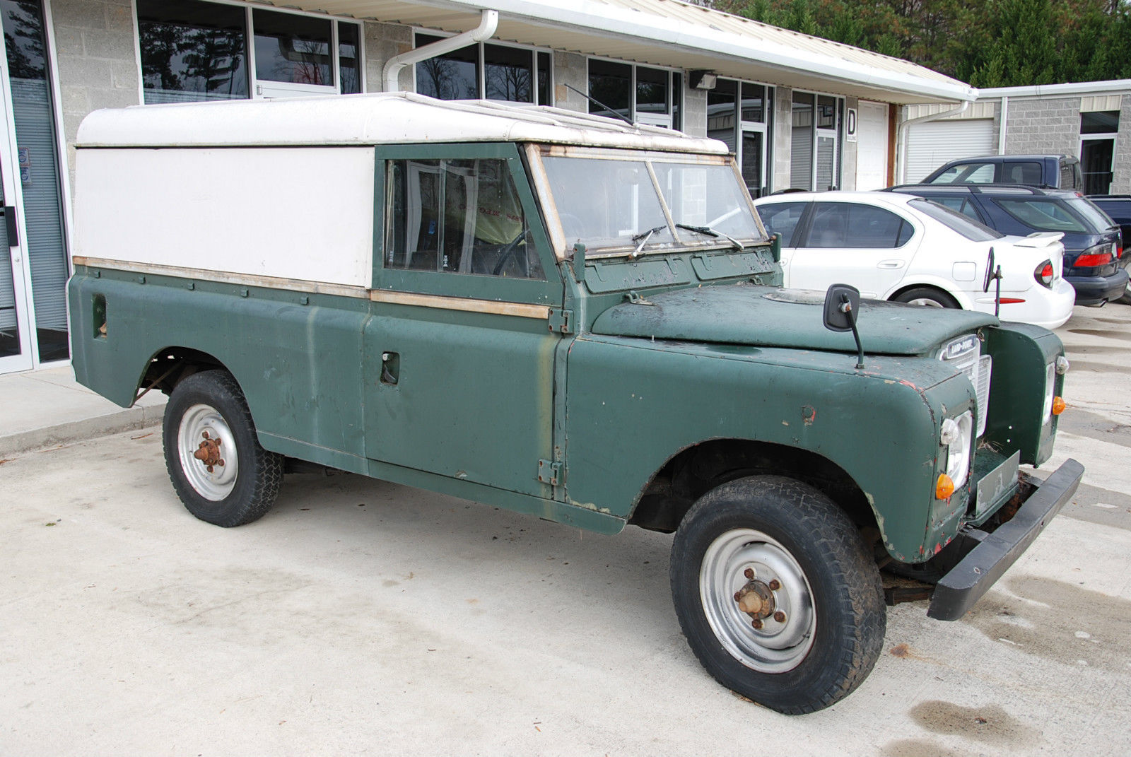 1980 Land Rover Series 3 Iii 2 25 L Diesel Right Hand