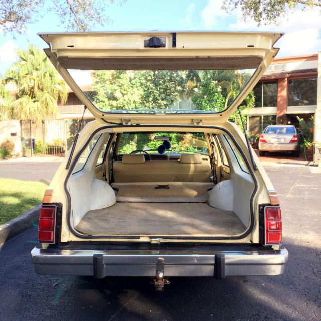 1980 Mercury Zephyr Wagon LOW MILEAGE **Rare