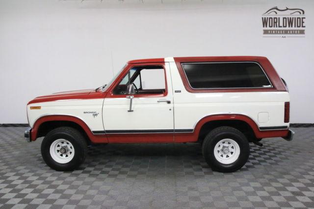 1980 red xlt 4x4 v8 90k original miles. Black Bedroom Furniture Sets. Home Design Ideas