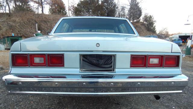 1981 5 7 v8 diesel chevy impala 4 door sedan for Pinckney garage door