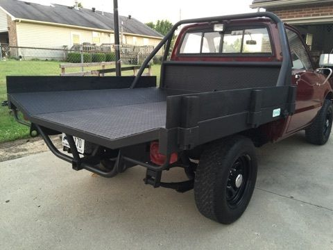 1981 Chevrolet Luv Isuzu Pup Diesel 4x4 Flatbed
