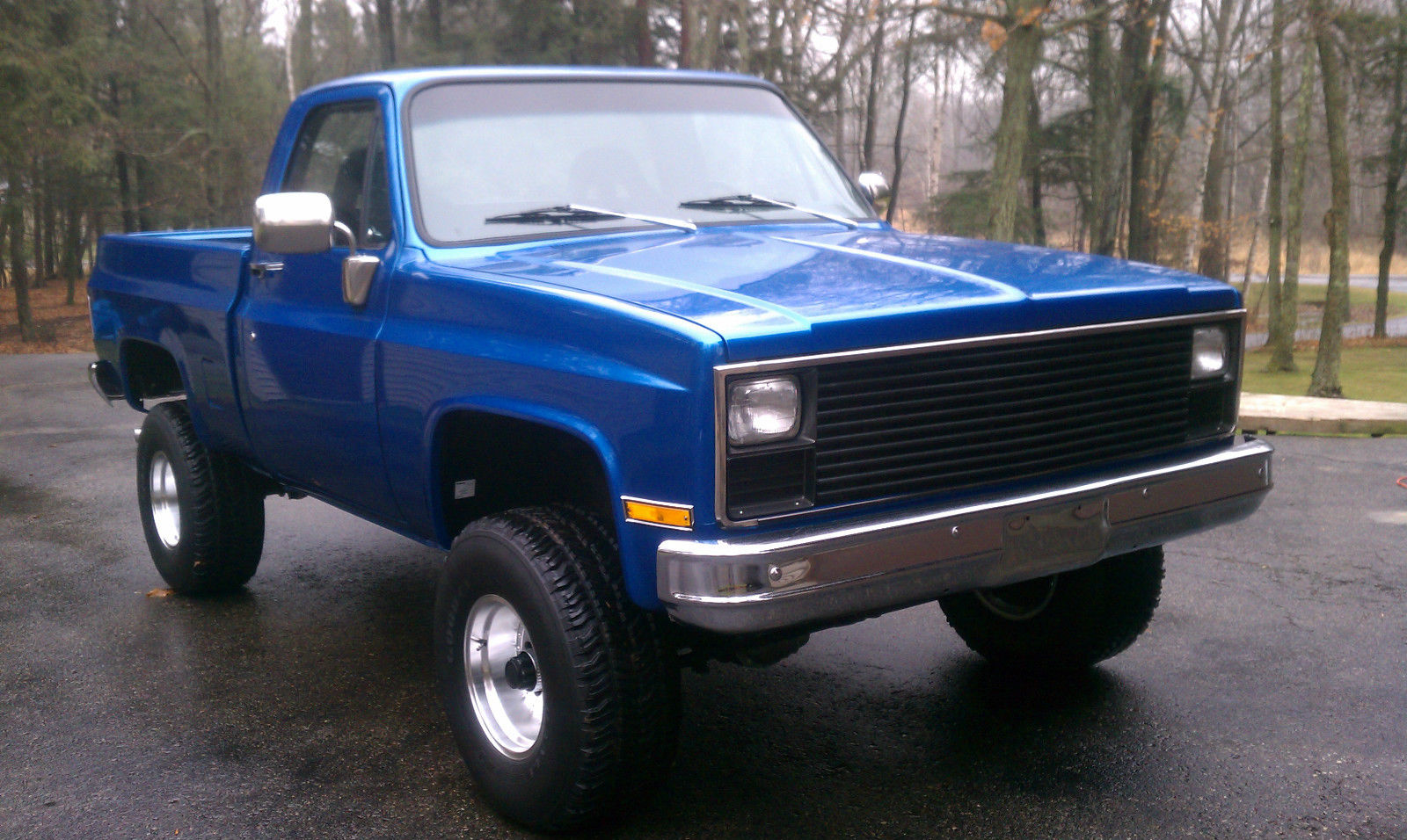 1981 Gmc Sierra 1500 4x4 Truck Shortbox     Same As Chevy