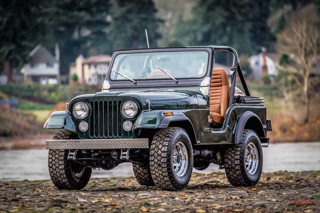 Old Jeep Vehicles >> 1981 Jeep CJ5 Full Restoration V8 4-Speed Classic 4X4