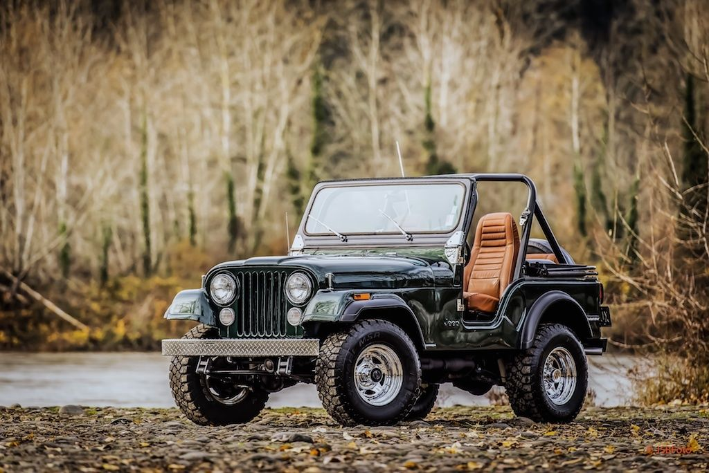 Restoration v8 4 speed classic 4x4 classic jeep cj 1981 for sale