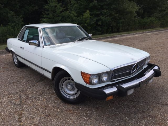 1981 Mercedes Benz 380 No Reserve