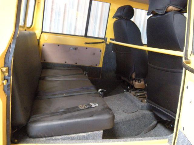 Unimog For Sale >> 1981 Mercedes Benz Unimog Doka 416 Double Cab 4X4 Monster ...