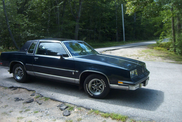 1981 Olds Cutlass Calais Rear Wheel Drive Coupe Time