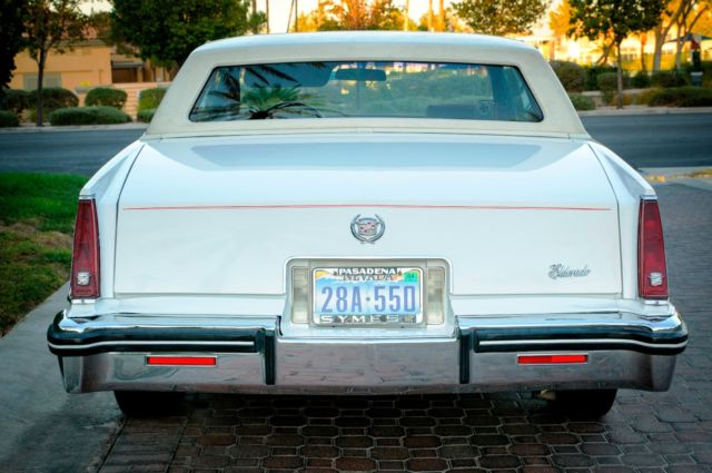 1982 cadillac eldorado 50 k miles only one owner private sell california car. Black Bedroom Furniture Sets. Home Design Ideas