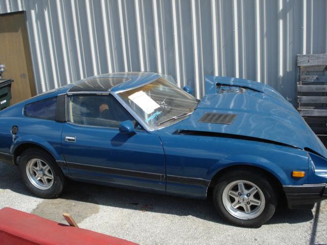 1982 datsun 280zx nissan 280zx targa good engine new tires sports car. Black Bedroom Furniture Sets. Home Design Ideas