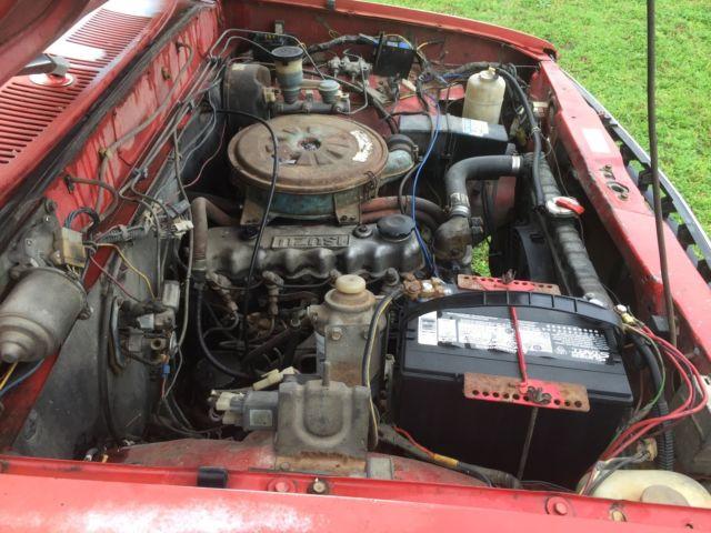 1982 Diesel Chevy Luv 4x4