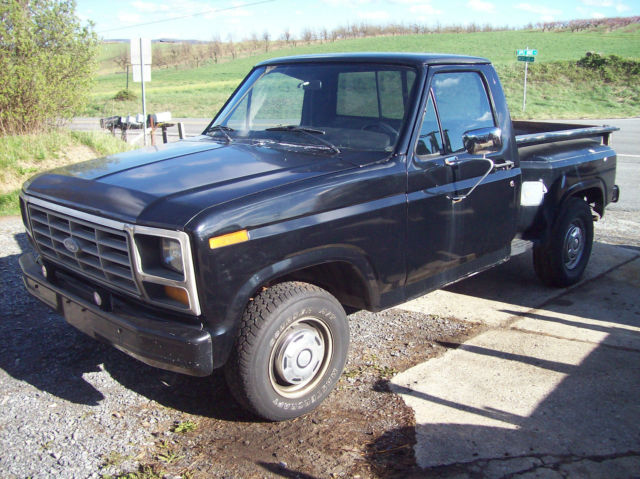 1982 ford f100 stepside pickup strong 302 flareside bed 1983 1981 1980 f150. Black Bedroom Furniture Sets. Home Design Ideas