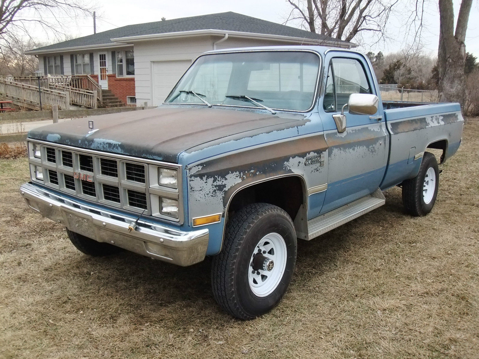 1982 gmc k2500 4x4 6 2l diesel oem paint 99 rustfree. Black Bedroom Furniture Sets. Home Design Ideas