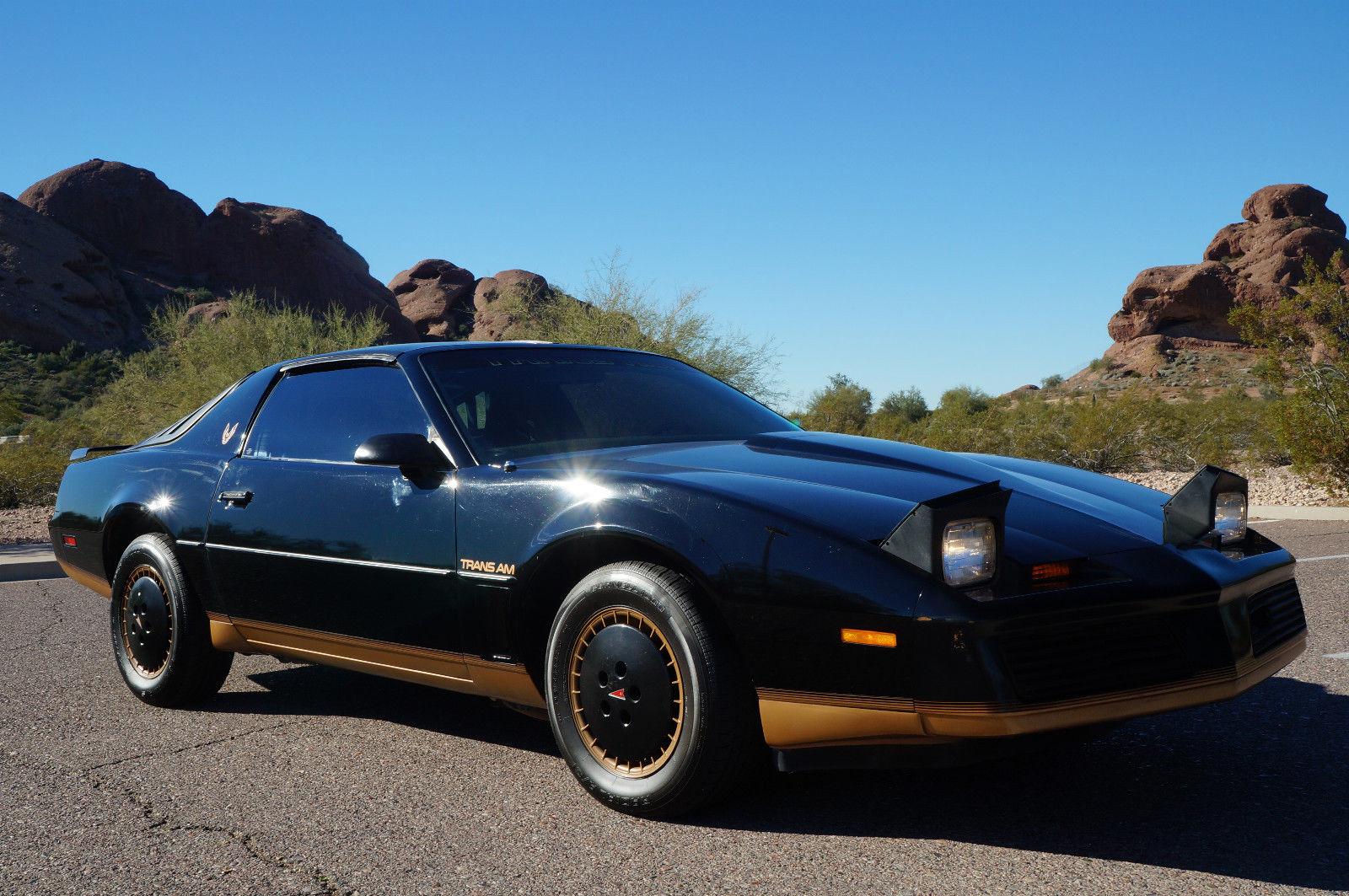 1982 Pontiac Firebird Trans Am T Tops Recaro Edition Black