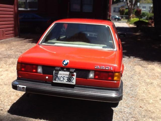 1983 Bmw 320i For Sale 178 806 Mi Henna Red Color