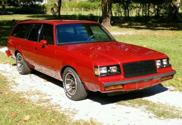 1983 Buick Regal Wagon Grand National 455 Big Block