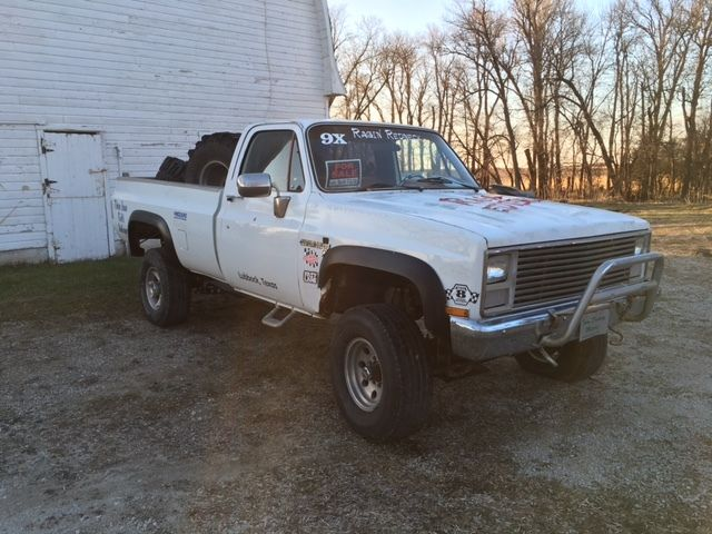1983 Chevy K2500 Square Body 4x4 Truck Former Mud Racer