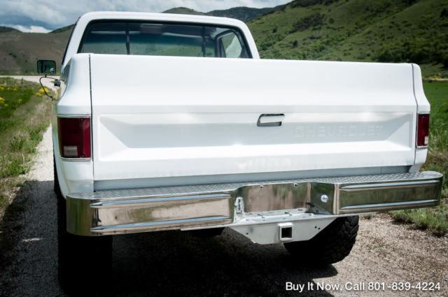 1983 Chevy Truck K10 4WD, SHORT BED, SHOP TRUCK, FRAME OFF RESTORE ...