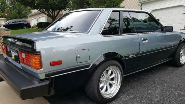 1983 Corolla Sr5