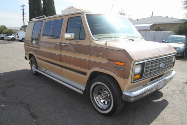 How To Read Ford Vin Number >> 1983 Ford Econoline Contempo C Automatic 8 Cylinder NO RESERVE