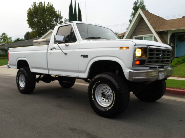 1983 ford f250 4x4 beast 460 v8 a  c a  t super nice super 1983 ford f250 4x4 rear axle specs 1986 ford f 250 4x4