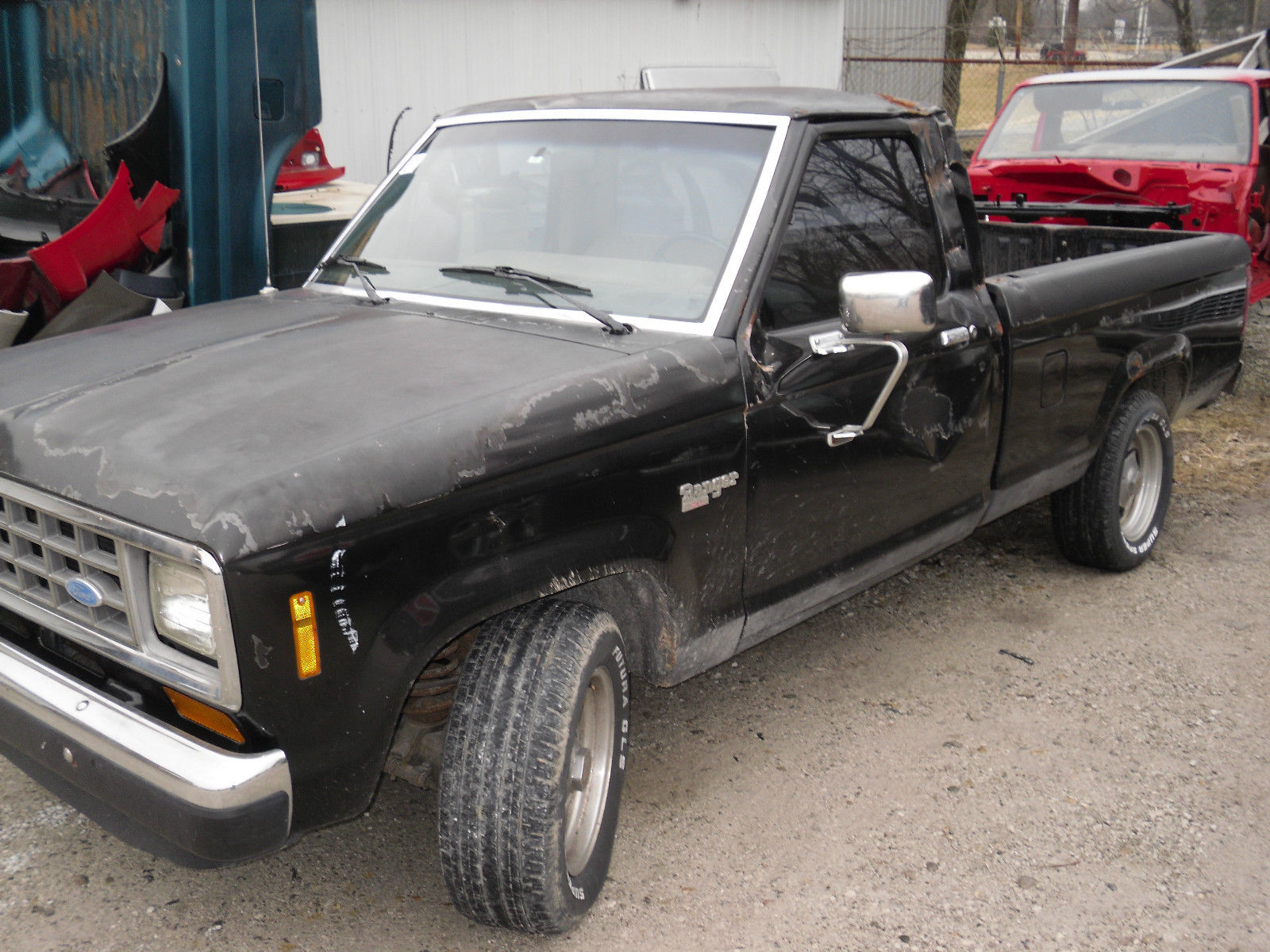 1983 ford ranger base standard cab pickup 2 door 2 2l diesel for sale in mooresville indiana. Black Bedroom Furniture Sets. Home Design Ideas