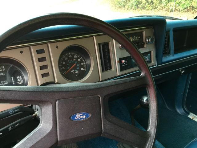 1983 Ford Ranger Diesel