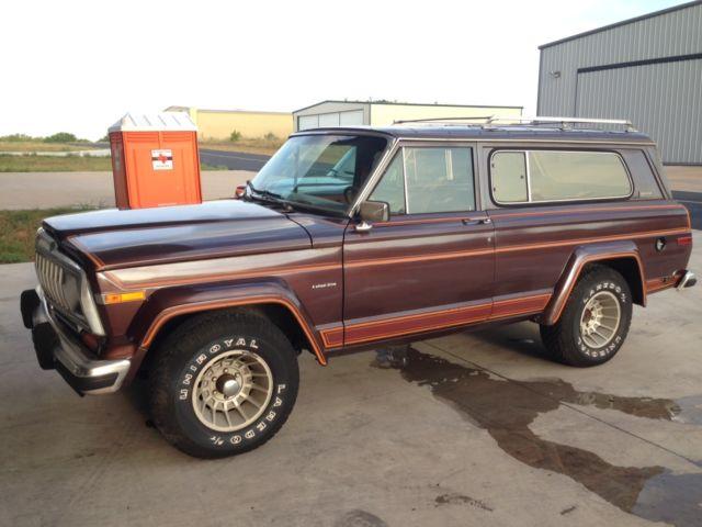 1983 jeep cherokee laredo 82k miles one owner survivor. Black Bedroom Furniture Sets. Home Design Ideas