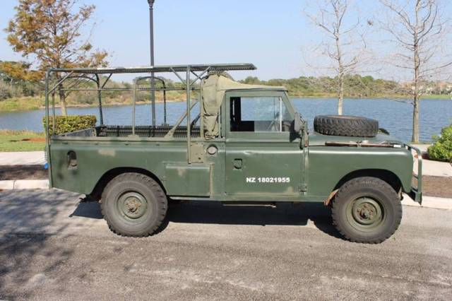 Land Rover Defender 110 For Sale >> 1983 Land Rover Defender Defender 110 - V8 New Zealand Army Addition