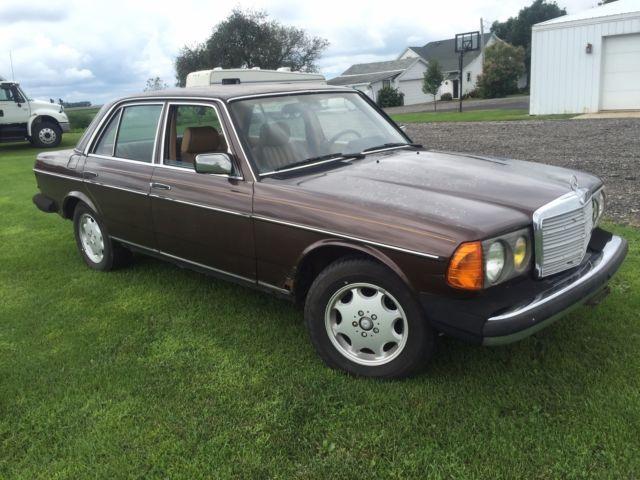 1983 mercedes 300d turbo diesel for Mercedes benz turbo diesel