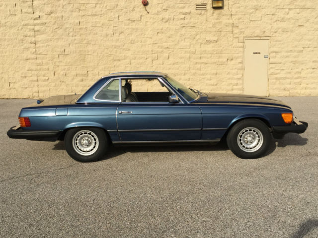 1983 mercedes 380sl with both tops no reserve for Mercedes benz evansville in