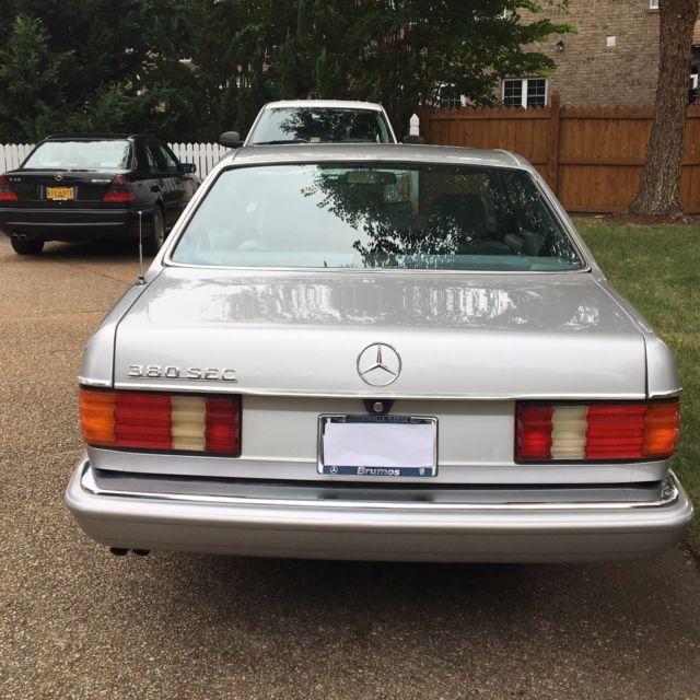 1983 mercedes benz 380sec 560sl 450sl 380sl amg for Mercedes benz 1983