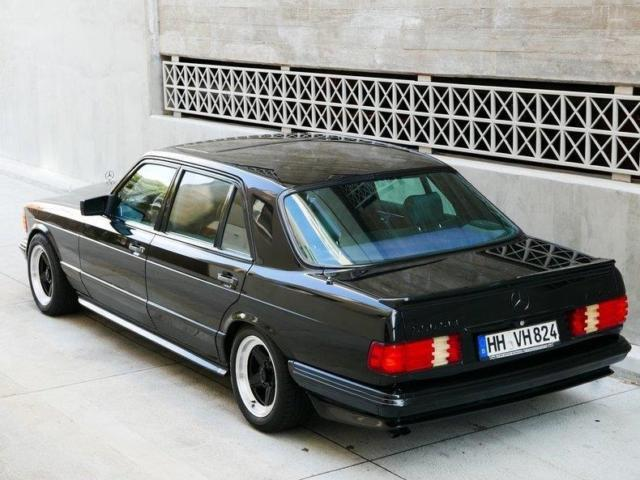 1983 mercedes benz 500sel amg euro spec 124599 miles black for Mercedes benz usa price list