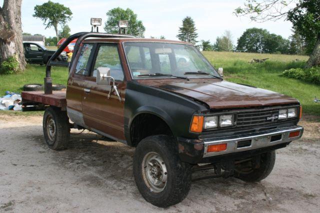 1983 Nissan 720 4x4 King Cab Pickup Truck 4wd No Reserve