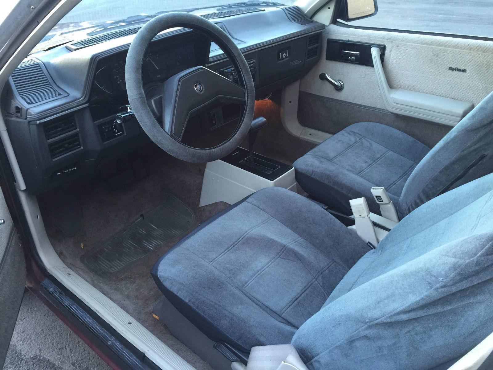 fuse box 87 buick skyhawk fuse box 2001 buick century 1984 buick skyhawk custom 2 door 1.8l, only 87,064 ... #8