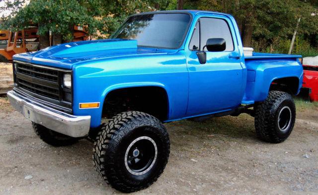 "Chevrolet Jackson Ms >> 1984 CHEVY 4X4 TRUCK NEW PAINT MOTOR 6"" SUSPENSION LIFT STEP SIDE CHEYENNE K15"