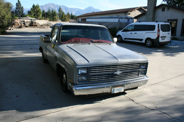 1984 Chevy C-10 Silverado Shortbed Fleetside square body ...
