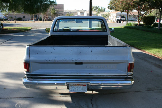Chevy C Silverado Shortbed Fleetside Square Body
