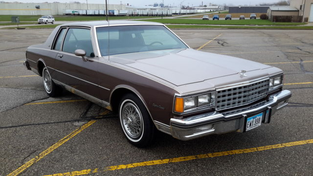 1984 Chevy Caprice Coupe 2