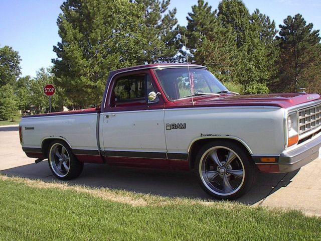 1984 dodge prospector royal se 1 2 ton pickup truck rat rod patina orig paint. Black Bedroom Furniture Sets. Home Design Ideas