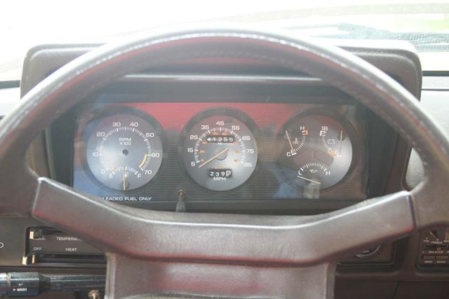 1984 Dodge Rampage pickup truck rare Chrysler FWD 2.2 ...