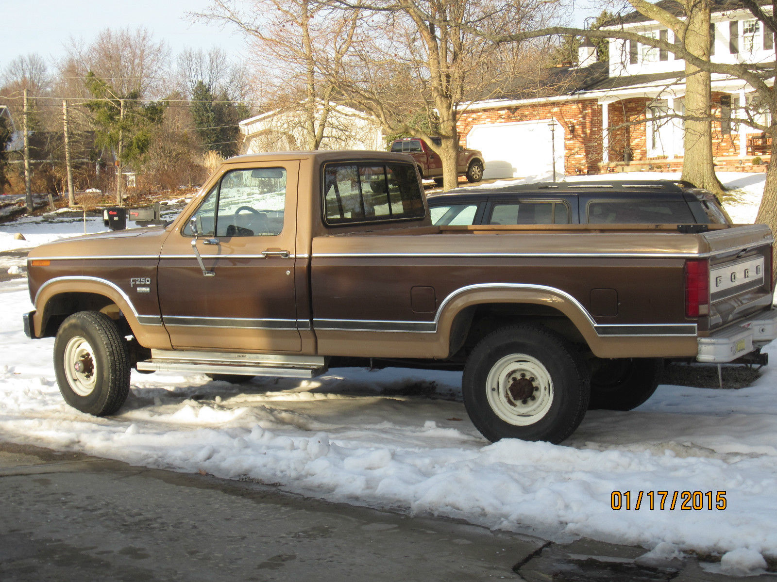 1984 ford f250 4x4 1980 85 ford truck 6 9 diesel for sale in canton ohio united states