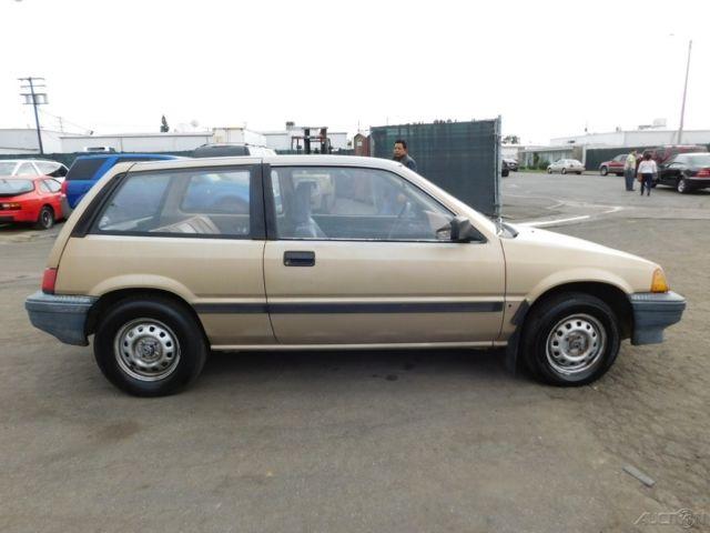 1984 honda civic used 1 3l i4 8v manual no reserve for 1984 honda civic