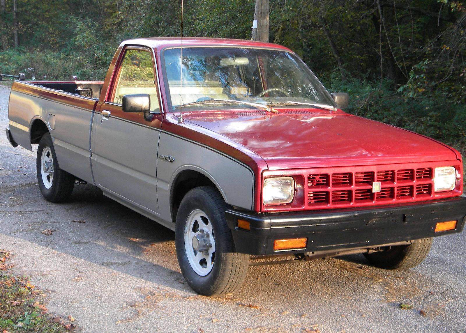 1984 Isuzu Pup 2 2 Diesel LS pickup truck 5 speed