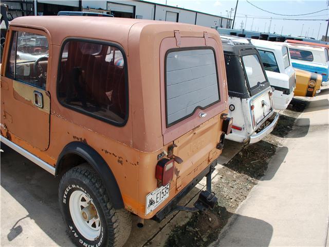 1984 Jeep Cj 4wd 151 751 Miles Cinnamon Cj7 Straight 6