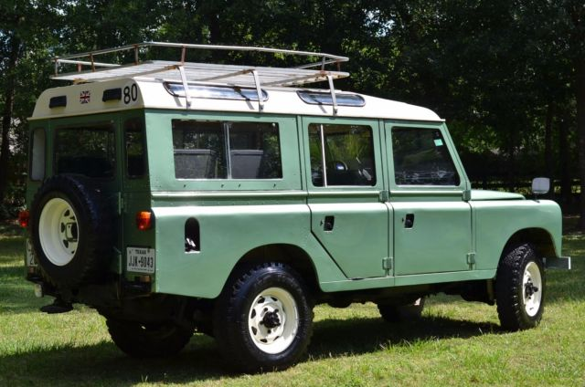 1984 land rover defender 109 4x4 left hand drive texas. Black Bedroom Furniture Sets. Home Design Ideas