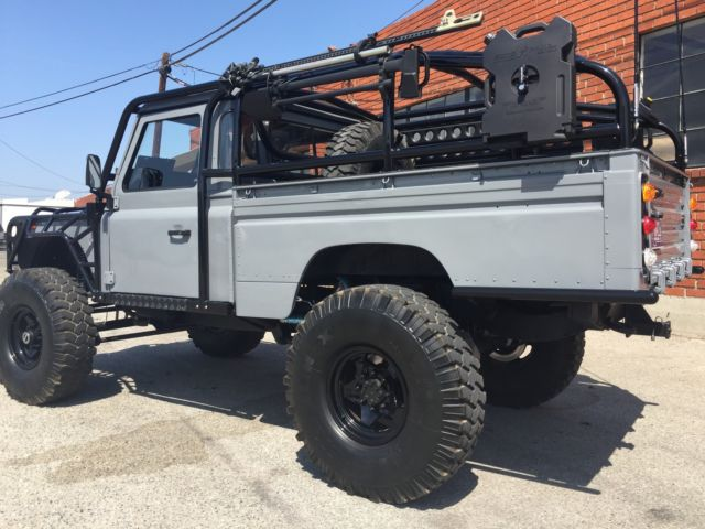 1984 land rover defender 110 high capacity pickup truck rhd turbo diesel. Black Bedroom Furniture Sets. Home Design Ideas