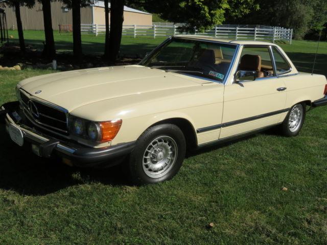 1984 mercedes benz 380sl base convertible 2 door 3 8l for Mercedes benz erie pa